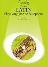Guest Spot - Latin + Cd - Saxophone Alto