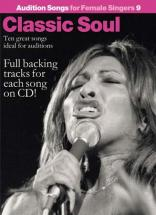 Audition Songs - Classic Soul Female N° 9 + Cd