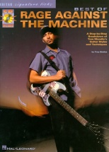 The Best Of Rage Against The Machine Guitar Signature Licks Tab - Guitar Tab