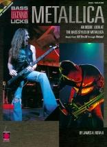 Metallica Legendary Licks Bass + Cd - Bass Guitar
