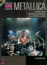 Beyer Gregory - Metallica - Drum Legendary Licks + Cd - Drums