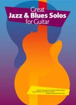 Great Jazz and Blues Solos - Guitar Tab