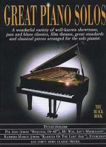 Great - Piano Solos Black Revised