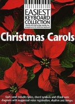 Easiest Keyboard Collection - Christmas Carols - Melody Line, Lyrics And Chords