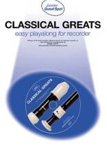 Guest Spot Junior - Classical Greats + 2cd Easy Playalong + Cd - Recorder