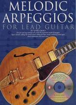Melodic Arpeggios For Lead + Cd - Guitar Tab