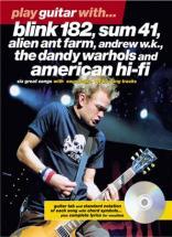Play Guitar With Blink 182, Sum41...+ Cd - Guitar Tab