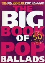 The Big Book Of Pop Ballads - Pvg