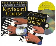 The Complete Absolute Beginners Keyboard Course + Cd/dvd - Keyboard