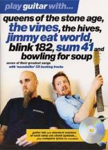 Play Guitar With Queens Of The Stone Age, Blink 182, Sum 41...+ Cd - Guitar Tab