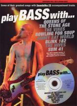 Play Bass With Queens, Sum 41 , Blink 182.. + Cd - Basds Tab