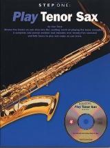Step One Play Tenor Sax + Cd - Tenor Saxophone