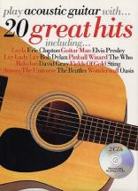Play Acoustic Guitar With - 20 Great Hits + 2cd - Guitar Tab