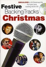 Festive Backing Tracks Christmas Lyrics - Lyrics Only
