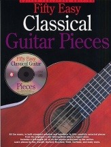 Fifty Easy Classical Guitar Pieces + Cd - Guitar Tab