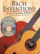 Js Bach Inventions For Guitar Duet Tab + 2cd - Guitar Tab