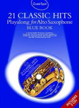 Guest Spot - 21 Classic Hits - Blue Book + 2 Cd - Saxophone Alto