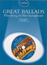 Guest Spot - Great Ballads + Cd - Saxophone Alto