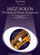 Guest Spot - Jazz Solos + Cd - Saxophone Tenor