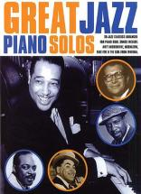 Great Jazz Piano Solos - 20 Jazz Classics