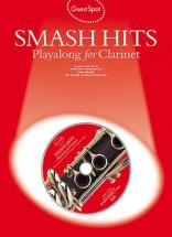 Guest Spot - Smash Hits Playalong For + Cd - Clarinet