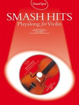 Guest Spot - Smash Hits Playalong For Violin Vln Book/2c - Violin