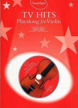 Guest Spot - Tv Themes Hits Playalong For + Cd - Violon