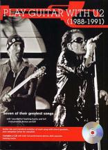 U2 - Play Guitar With 88-91 + Cd - Guitar Tab