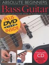 Absolute Beginner Bass Guitar B+ Cd/dvd - Bass Guitar