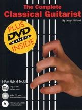 Willard Jerry - Complete Classical Guitarist + Cd + Dvd