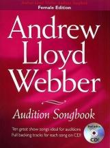 Andrew Lloyd Webber Audition Songbook + Cd - For Women - Pvg