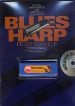 Blues Harp From Scratch Harm + Cd - Harmonica