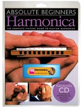 Absolute Beginners Harmonica Instrument Pack + Cd - Harmonica