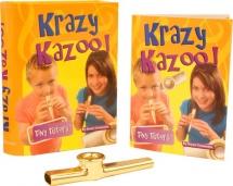Tiny Tutors Krazy Kazoo Book/inst - Kazoo
