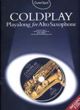 Coldplay - Guest Spot + Cd - Saxophone Alto