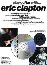 Clapton Eric Play Guitar With Tab Avec Cd Et Dvd