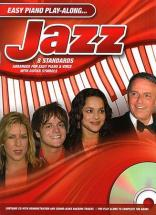 Easy Piano Play Along - Jazz + Cd - Pvg