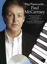 Mc Cartney Paul - Play Piano With + Cd