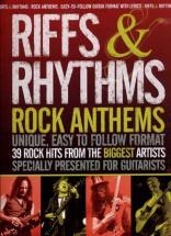 Riffs & Rhythms Anthems - 39 Rock Hits - Guitar Tab