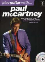 Mc Cartney Paul - Play Guitar With + Cd - Guitar Tab