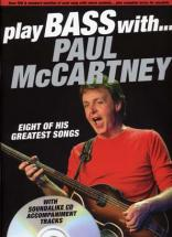 Mc Cartney Paul Play Bass With Tab Cd