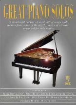 Great Piano Solos Tv Book - Piano