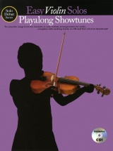 Solo Debut Playalong Showtunes Easy Violin Solos + Cd - Violin