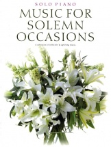 Music For Solemn Occasions - Piano Solo