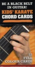 Kids Karate Chord Cards - Guitar