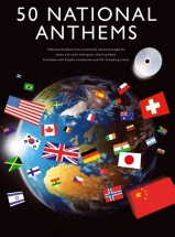 50 National Anthems + Cd - Pvg