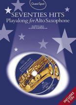 Guest Spot + Cd - Seventies Hits - Saxophone Alto