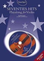 Guest Spot - Seventies Hits + Cd - Violon