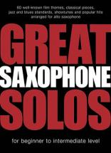 Great Saxophone Solos - 60 Themes - Alto Sax