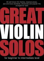 Great Violin Solos - 60 Pieces